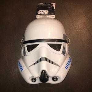 Star Wars Stormtrooper Mask NWTs